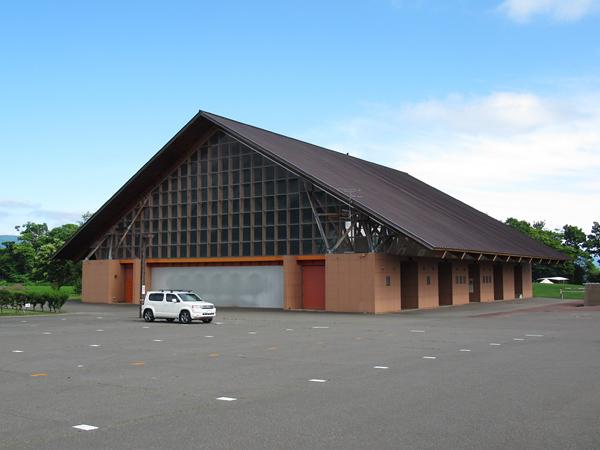 財田キャンプ場 スポーツ交流館