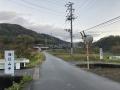 201123加茂から和束への山腹の上り基調