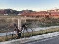 210109京阪の木津川橋梁まで戻って来た