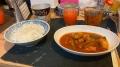 210111夕食は鶏肉のトマト煮