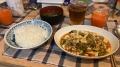 210320夕食は麻婆豆腐で豆腐退治