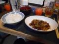 201227夕食の茶色いやつ
