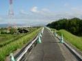 200523大住から京奈和道の工事区間