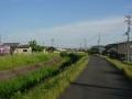 200530井関川沿いを木津の市街地へ