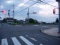 200627比叡辻の奥に琵琶湖が見える