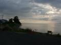 200627琵琶湖の湖岸に出る