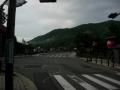 200813静かな朝の渡月橋