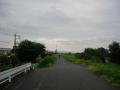 200813帰路は桂川の自転車道