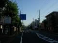 200815元来た道を抜けて奈良市街を北上