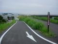 200822曽我川橋から曽我川の自転車道へ