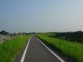 200822木津川CRを北上