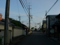 200829奈良口の交差点に出た