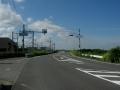 200905河川敷から旧国の中之芝2丁目信号へ