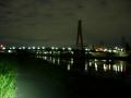 200919まだ暗い神崎川沿いに進む