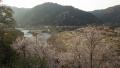 200404切山の集落から笠置へ下って行く