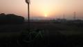 200502木津川右岸、城陽で日の出