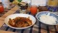 200523鶏のケチャップ煮で夕食