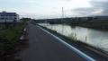 200620佐保川堤防の工事は終わっていた