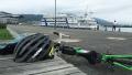 200627大津港で船を見ながら休憩