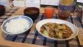 200628夕食は麻婆春雨で野菜炒め