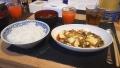200809夕食の麻婆豆腐など