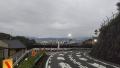 200813滑石越から東山側へ下った京都駅方向の眺望
