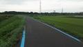 200829近鉄の線路をくぐり佐保川の堤防へ