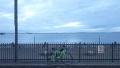 200919鳴尾浜から海を望む