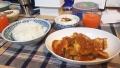 200927鶏のトマト煮で夕食