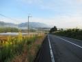 201018山麓の田畑の間を抜けてアップダウンが続く