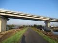 201114大和川に沿って下永橋へ
