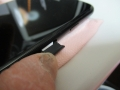 201118届いたiPhoneSEにSIM挿入