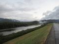 201123木津川を遡り、恭仁大橋を渡る
