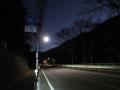 201205八瀬付近で夜明け