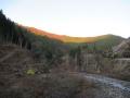 201205晩秋の山を見ながら進む