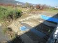201205背割河川敷は工事中