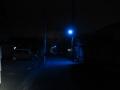 201219天理市街近郊の青い街灯