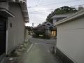 201219三昧田から細道を南下し突き当りを右へ