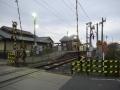 201219桜井線の長柄駅へ