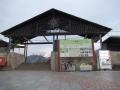 201219長柄駅西側のエントランス