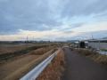 201219佐保川に沿って北上