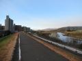 201231京川橋の先は青空