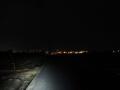 210206まだ暗い久御山の農道を東へ
