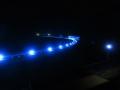 210206天ヶ瀬ダムの堰堤のライト