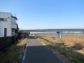 210206羽束師橋付近で桂川CRに合流