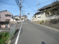 210320魚屋通の西端から桂川の自転車道へ
