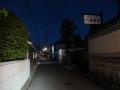 210410帯解寺の先で上街道離脱