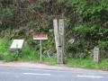 210424竹内峠の道標