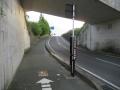 210424葛城川の自転車道が交差
