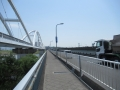 210430鳥飼大橋で淀川左岸に戻る